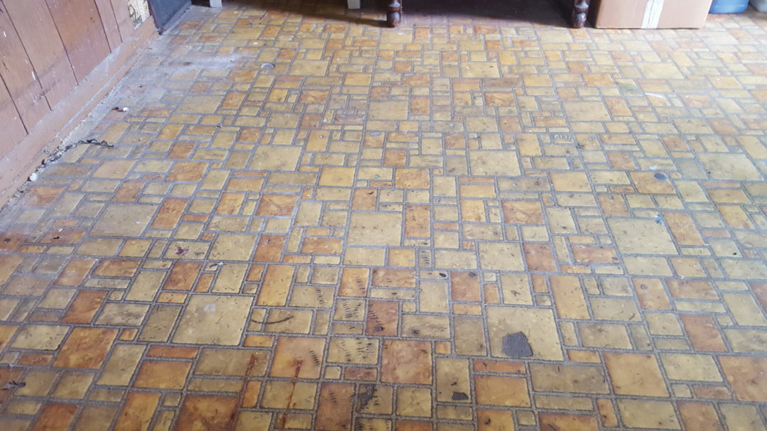 70's Linoleum ugly floor contest entry photo