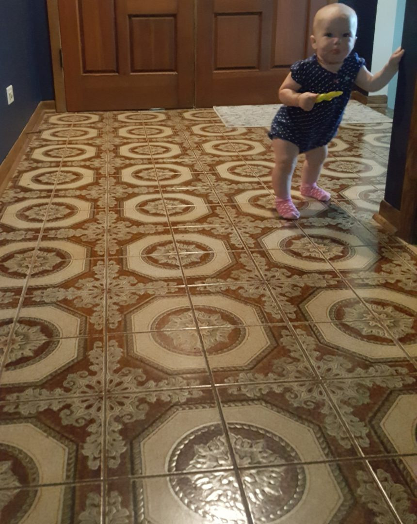 Even The Baby Doesn't Like It!! ugly floor contest entry photo