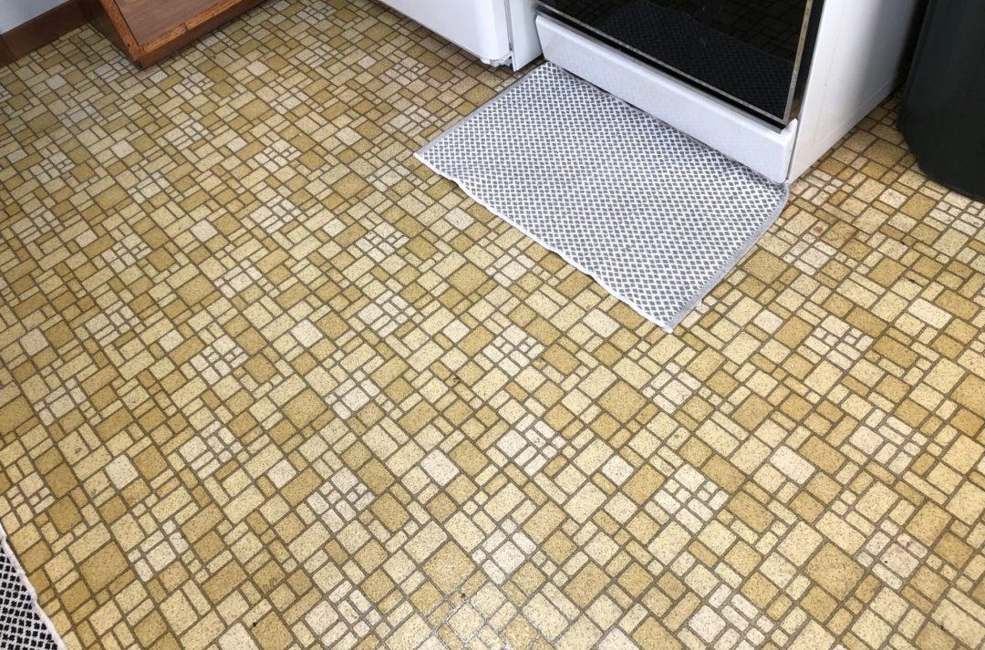 Spongebrown Squarefloor ugly floor contest entry photo